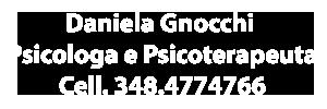 Daniela Gnocchi Psicologa e Psicoterapeuta